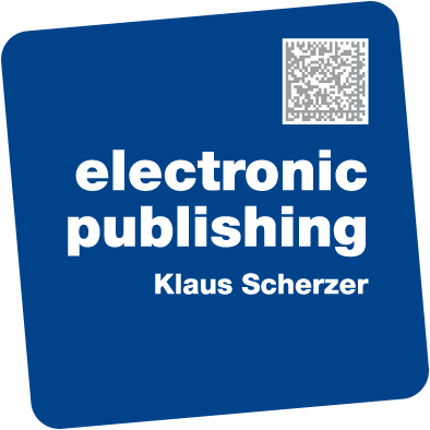 electronic publishing Klaus Scherzer